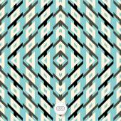 Seamless geometric background. Mosaic. Abstract vector Illustrat — Stock Vector