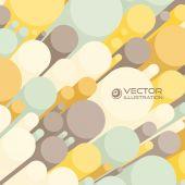 抽象的 3d 背景,用多彩的圆筒。可用于 — 图库矢量图片