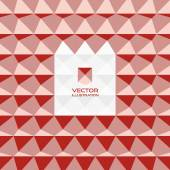 Abstract 3d geometric background. 3D vector interior wall panel — Vettoriale Stock