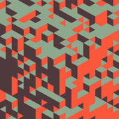 3d pozadí struktury bloků. vektorové ilustrace. — Stock vektor