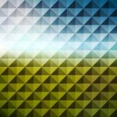 Fondo geometrico astratto. mosaico. illustrazione di vettore. — Vettoriale Stock