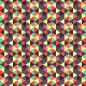 Abstrato geométrico. mosaico. ilustração vetorial. — Vetor de Stock