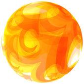 Soyut küre. Vektör çizim tasarımınız için. — Stok Vektör