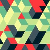 Abstract geometrical 3d background. — Vector de stock