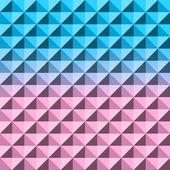Streszczenie tło geometryczne. Mozaika. Ilustracja wektorowa. — Wektor stockowy