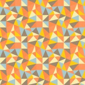 Geometric triangles background. Mosaic. — Stock Vector
