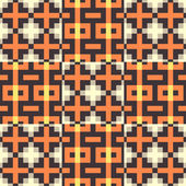 Seamless pattern. Mosaic. — Stock Vector