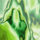 Abstrakte Landschaft Hintergrund. Mosaik. — Stockvektor