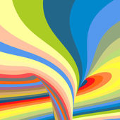 Abstract swirl background. Vector illustration.  — Stock Vector
