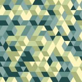 Abstract 3d geometrical background. Mosaic. Vector illustration. — Stock Vector
