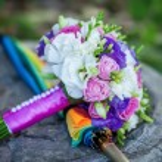 Wedding bouquet, flowers, roses, beautiful bouquet — Stock Photo #67567913