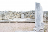 Classical Greek altar  — Stock Photo