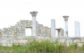 Oude kasteel met kolommen — Stockfoto