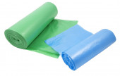 Roll packages for garbage — Stock Photo