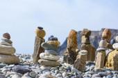 Cijfers van stenen — Stockfoto