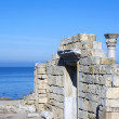 Ruins of an Ancient Greek temple — Stock Photo #66939831
