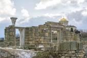 废墟中和列赫尔松涅斯 — 图库照片