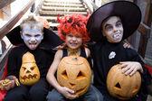 Dzieci w kostium na halloween — Zdjęcie stockowe