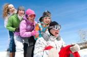 Winterspiele — Stockfoto