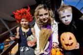 Children on Halloween — Stock Photo