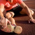 Athlete leg injury — Stock Photo #69533443