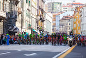Cyclist, Giro d'Italia — ストック写真