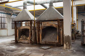 Murano furnace — Foto Stock