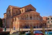 The Church of Santa Maria e San Donato — Foto de Stock