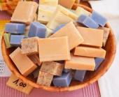 Homemade soaps — Stock Photo