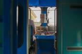 Train conductor — Stock Photo