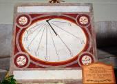 Sundial clock — Stock Photo