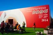 Trieste espresso expo — Stock Photo