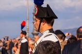 Carabinieri, Italian policemen — Stock Photo