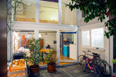 Home courtyard — Stock Photo