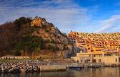 Porto piccolo, Sistiana. Italy — Stock Photo