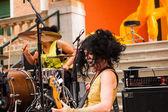 Concert, british pavillion in 56th Venice biennale — Stock Photo