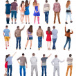 "Collection of ""back view of people "" — Stock Photo #62405915"