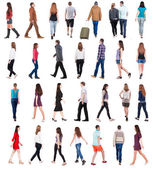 """Collection of"""" back view of people """" — Stock Photo"""