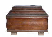 Old brown casket.  — Foto de Stock