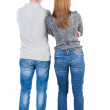 Back view of young couple — Stock Photo #72326117
