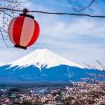 Постер, плакат: The mount Fuji Japan