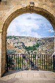 Matera, the city of stones — Stock Photo