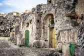 Matera, the city of stones — Stock Photo