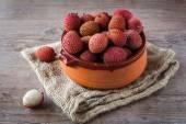 Fruits de litchi — Photo