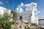Greek church in Parikia — Stock Photo