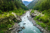 River from everest trek — Stock Photo