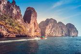 Malebné mořské krajiny — Stock fotografie