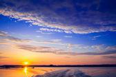Amazing sunset — Stock Photo