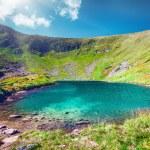 High mountain lake — Stock Photo #76777477