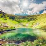 High mountain lake — Stock Photo #76782915